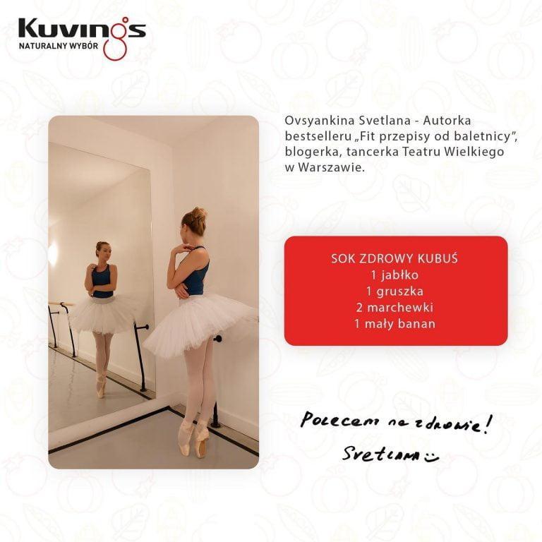 Baletnica Kuvings